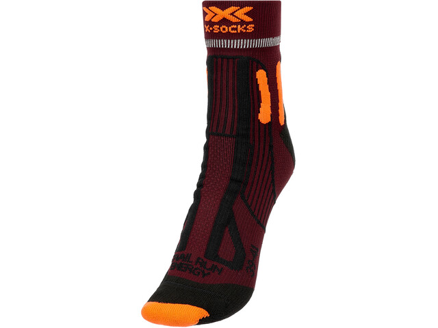 X-Socks Trail Run Energy Calcetines Hombre, naranja